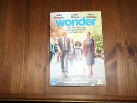 Two DVD's Wonder and Victoria and Abdul