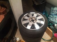 Renault Clio 182/172 16 inch alloys x2 vgc with legal tyres