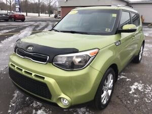 2014 Kia Soul EX FEATURE-RICH EX EDITION WITH LOW KMs, FACTOR...