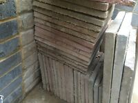 """Free - Patio Slabs - approx 55 - 18"""" x 18"""""""