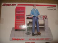 SNAP ON SOUND AND MOTION MECHANICAL BANK. (BNIB) RARE £34.95 OVNO