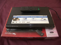 SONY DVP-SR90 CD/DVD Player with Remote Control.