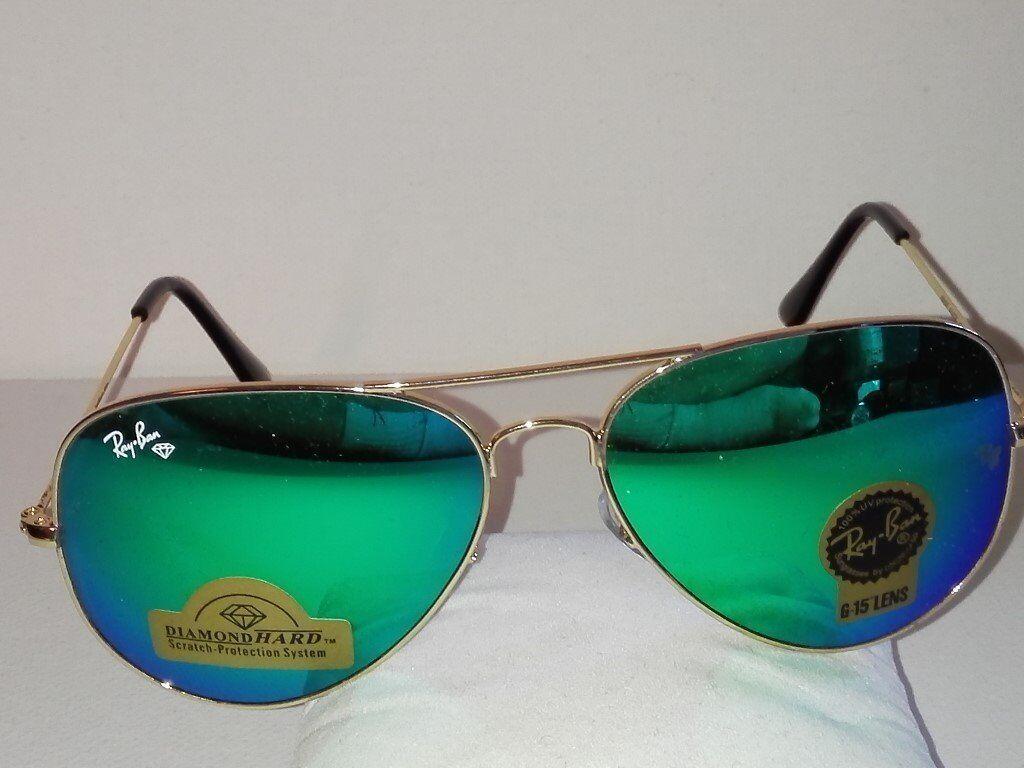 RayBan Aviator Sunglasses with case