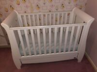 Tutti Bambini - Katie Seligh Mini Cot Bed with drawer