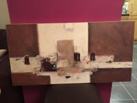 Abstract Art Canvas John Lewis RRP £99