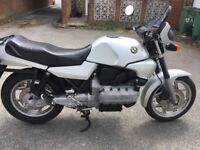 1983 BMW K100 for sale, silver. Recent MOT, tyres & battery.