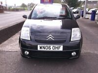 CITREON C2 FURIO HDI, AUTOMATIC AND SEMI , 59000 MILES, AVERAGE 66 MPG, 12 MONTHS MOT