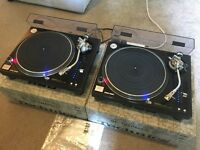 2x Technics SL 1210 MK5G Turntables - Fully Boxed