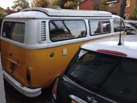 VW Type 2 Bay Window Campervan