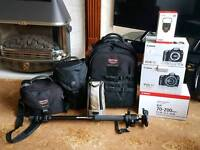 Canon professional outfit