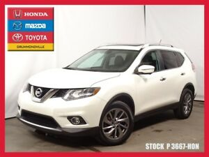 2015 Nissan Rogue SL+AWD+CUIR+NAVIGATION+TOIT+CAMERA 360*