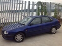 TOYOTA COROLLA 1.3 GS 5 DOORS HATCH BACK MANUAL BLUE