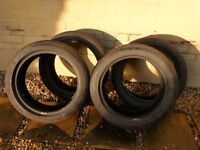 Car Tyres (x4) Pirelli 205/500R17 Run Flat