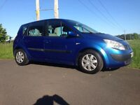Renault Megane Scenic. Great family car. Long MoT. New tyres