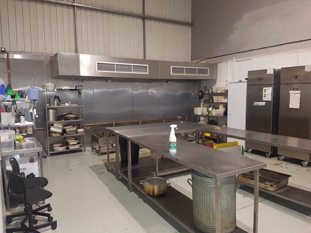 Commercial Kitchen Space For Rent In Cambridge