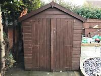 Wooden Solid Shed 8X6