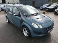 Mercedes Smart For Four Passion 1.1 75bhp, 5 Door, 1 Former Keeper, Glass Roof, Air Con, Warranty