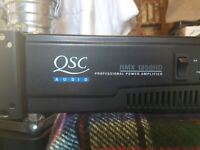 QSC RMX 1850HD stereo power amplifier for sale  Wirral, Merseyside