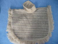 100% wool poncho for 2-3 years. Very good condition!