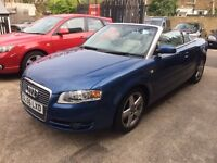 Audi A4 CABRIOLET 2.0 TFSI Sport Multitronic, LEATHER/FULL SERVICE JUST DONE