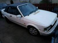 Mk4 escort cabriolet project 80k 1 owner
