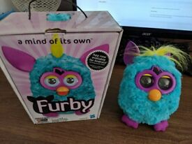 Boxed Blue Furby