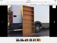 BOOKCASE DISPLAY IN GOOD USED CLEAN CONDITION COLLECTION WISBECH