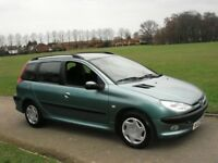 BREAKING FOR SPARES........PEUGEOT 206 SW ESTATE