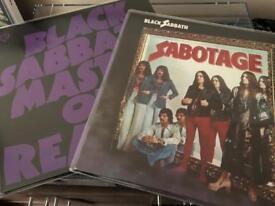 2 x black sabbath reissues - ltd green vinyl record metal