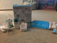Angel care sound and movement baby monitor