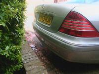 Mercedes S class W220 S280 09/2003