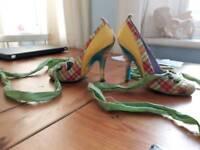Amazing irregular choice shoes brand new, UK Size 3
