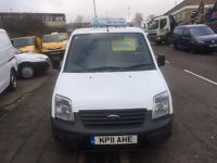 FORD TRANSIT CONNECT VAN 1.0TDCI 90BHP 2011/11REG 3 MONTH WARRANTY £3499 NO VAT