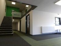Office space from £100 p/m, high speed internet, just off A19, free car parking