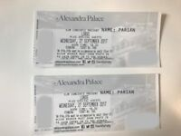 2 Standing Tickets for Lorde - Alexandra Palace - 27 September
