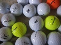 GOLF BALL LOT - DUNLOP; TOP FLITE etc. Very good Condition. Pick Your Own. ONLY £10 per 50 Balls.