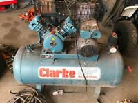 Clarke 100ltr compressor unused since new