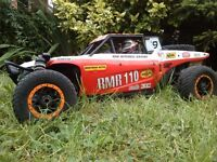 HPI APACHE C1 FLUX BRUSHLESS DESERT BUGGY 4WD WITH SPEKTRUM RADIO, 4S VERY FAST RC,RADIO CONTROLLED