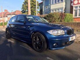 BMW 118D SPORT BLUE