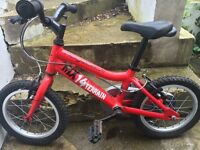 Child's Ridgeback MX14 Bicycle.