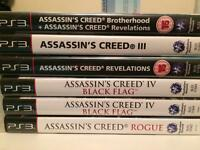 Ps3 assassins creed collection