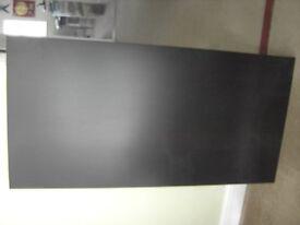 IKEA BLACK/BROWN TABLE TOP