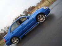 2004 SUBARU WRX TURBO FSH 76K LOW MILES NICE EXAMPLE FAST SCOOBY