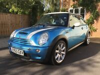 Great condition Mini Cooper S, leather interior with heated seats.