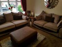 Gorgeous 4 & 3 seater sofas