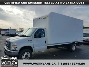 2010 Ford E-450 16Ft V8 Gas + Ramp - CERTIFIED