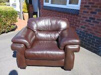 Quality Leather Armchair