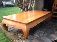 UNIQUE SOLID WOOD COFFEE TABLE FROM BALI