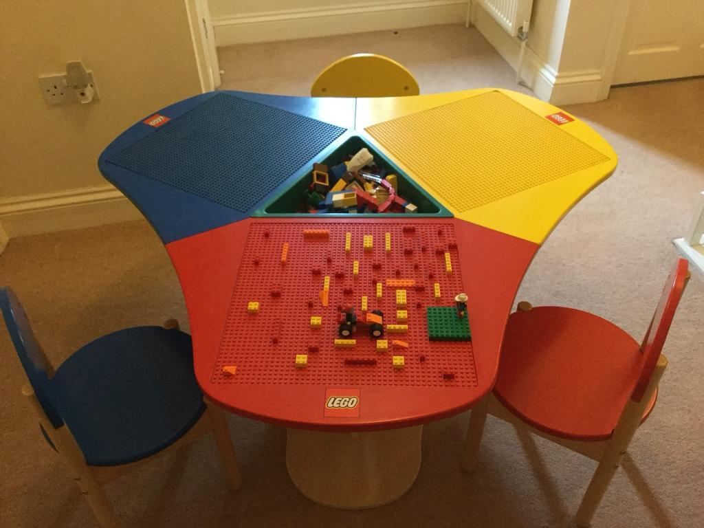 Lego table and three chairs, fantastic item | in Swaffham, Norfolk ...