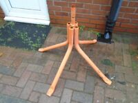 belle cement mixer stand
